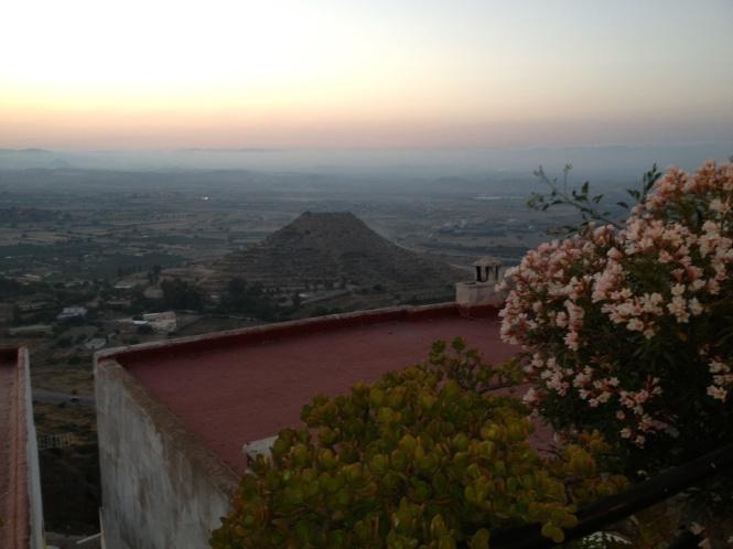 Flott utsikt fra Majocar